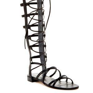 New Stuart Weitzman Sparta tall Gladiator sandals